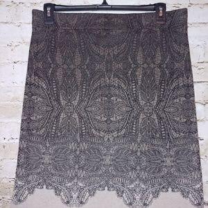 {Nic+Zoe} beautiful ombre skirt